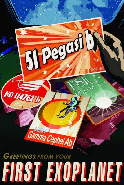 51 pegasi b Poster