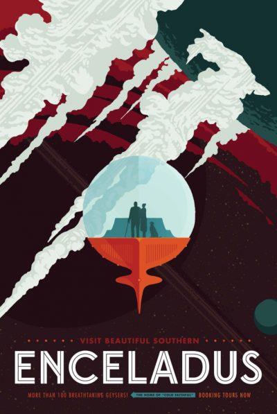 Enceladus Poster